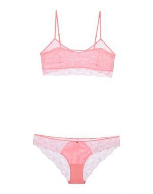 Комплект белья SKINY. Цвет: лососево-розовый