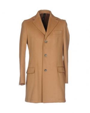 Легкое пальто GUTTHA. Цвет: верблюжий
