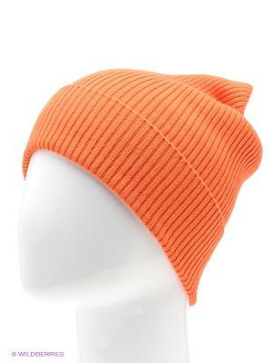 Шапка Marhatter. Цвет: оранжевый
