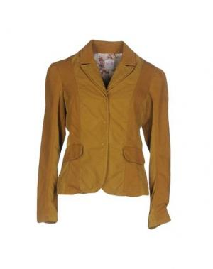 Пиджак NOLITA. Цвет: охра