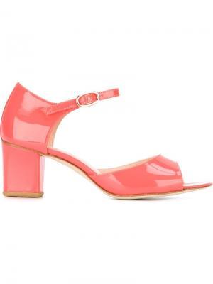 Босоножки Colette Repetto. Цвет: розовый и фиолетовый