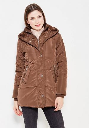 Куртка утепленная Roosevelt. Цвет: коричневый