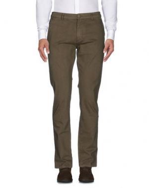 Повседневные брюки NAVIGARE. Цвет: зеленый-милитари