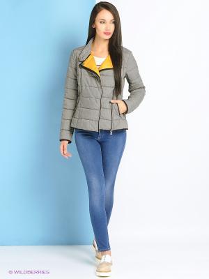 Куртка Trussardi. Цвет: серый
