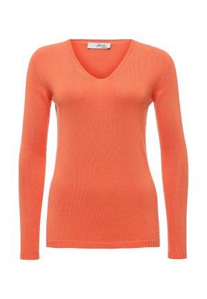 Пуловер Lovini. Цвет: оранжевый