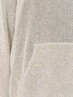 Толстовка с капюшоном Laneus. Цвет: телесный
