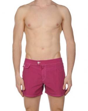 Шорты для плавания MOSAIQUE. Цвет: розовато-лиловый