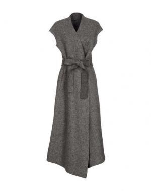 Пальто PYAAR. Цвет: серый