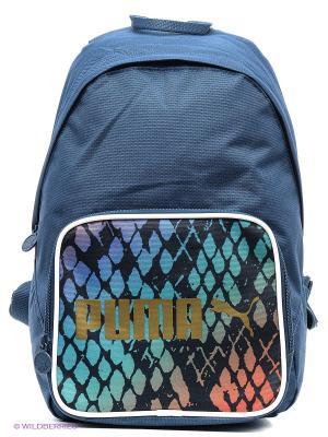 Рюкзак Campus Backpack Puma. Цвет: синий