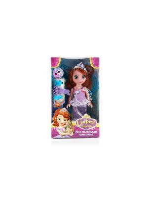 Кукла Карапуз disney принцесса София. Цвет: сиреневый, бежевый