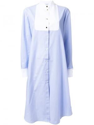 Платье Pony Macgraw. Цвет: синий