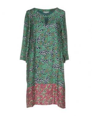 Короткое платье GAZEL. Цвет: зеленый