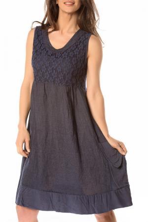 Платье LA BELLE PARISIENNE. Цвет: синий