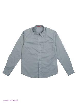 Сорочка PELICAN. Цвет: серый