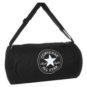 Сумка спортивная  Standard Duffel Poly Black Converse. Цвет: черный