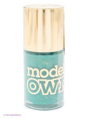 Лак для ногтей 14 мл, Emeraid Green Models Own. Цвет: зеленый