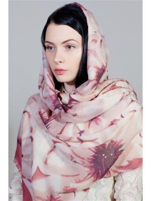 Палантин Fiona Fantozzi. Цвет: розовый