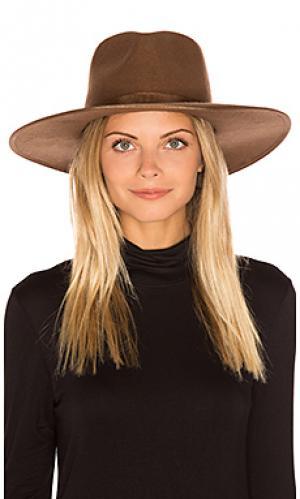Шляпа федора homestead Brixton. Цвет: цвет загара