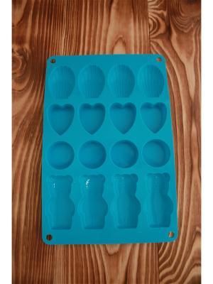 Форма силиконовая Vetta. Цвет: голубой