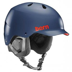 Шлем для сноуборда  Snow Eps Watts Matte Navy Blue/Black Liner Bern