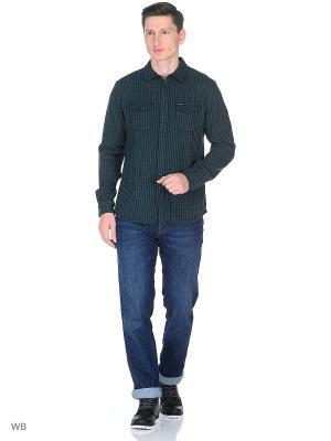 Рубашка 2PKT Wrangler. Цвет: черный