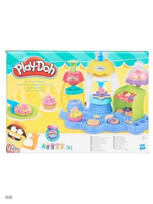 Игровой набор Фабрика пирожных PLAY-DOH. Цвет: светло-коричневый