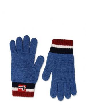 Перчатки NAPAPIJRI. Цвет: синий