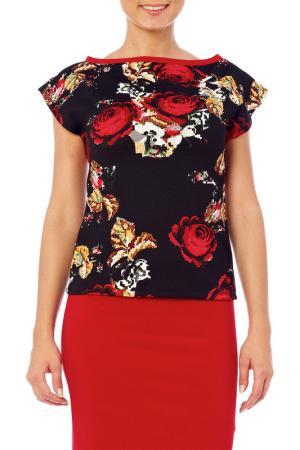 Блузка 4 Lilou. Цвет: черный