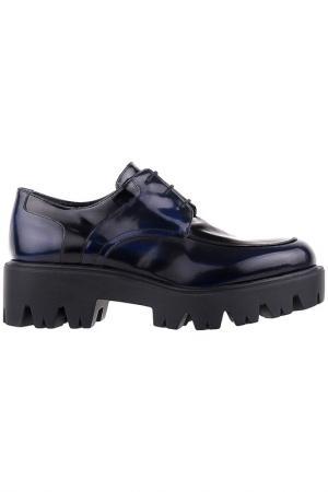 Туфли Easy by loriblu. Цвет: темно-синий
