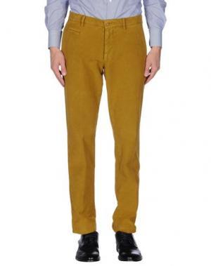 Повседневные брюки ALTEA dal 1973. Цвет: охра