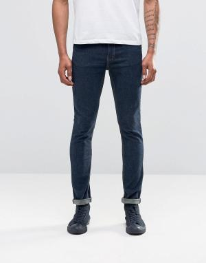 Cheap Monday Облегающие синие джинсы. Цвет: темно-синий