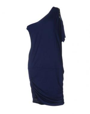 Короткое платье MET MIAMI COCKTAIL. Цвет: синий