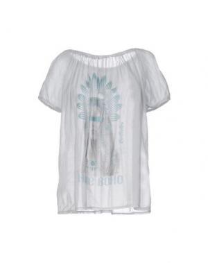 Блузка AU SOLEIL DE SAINT TROPEZ. Цвет: небесно-голубой