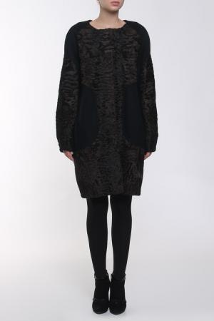 Пальто Regalia. Цвет: черный, мокко