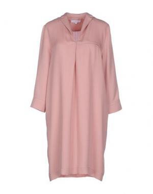 Короткое платье SECOND FEMALE. Цвет: розовый