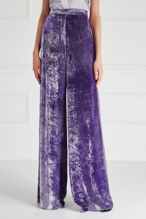 Бархатные брюки «Сьют» Esve. Цвет: none