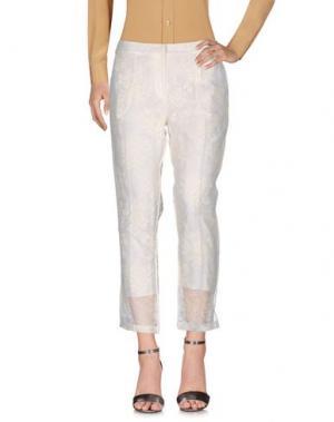 Повседневные брюки ERDEM. Цвет: белый