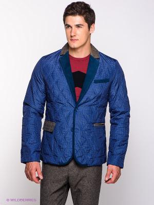 Куртка Baon. Цвет: темно-синий, морская волна, черный