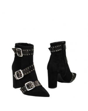 Полусапоги и высокие ботинки BIANCA DI. Цвет: черный