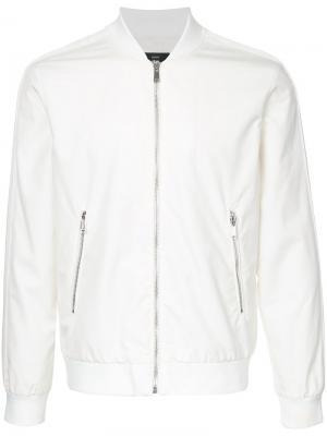 Куртка-бомбер Kent & Curwen. Цвет: белый
