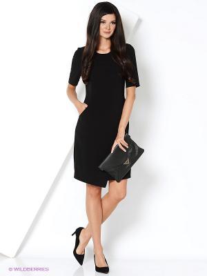 Платье КАЛIНКА. Цвет: черный