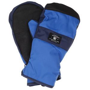 Варежки DC Franchise Mitt Nautical Blue Shoes. Цвет: синий