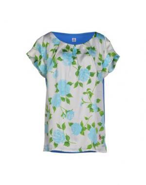 Блузка COOPERATIVA PESCATORI POSILLIPO. Цвет: небесно-голубой