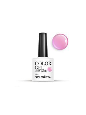 Гель-лак Color Gel Тон Candy Floss SCG060/Сахарная вата SOLOMEYA. Цвет: розовый, сиреневый
