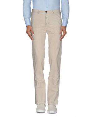 Повседневные брюки CELLAR DOOR. Цвет: слоновая кость