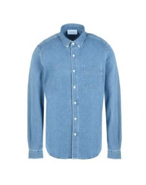 Джинсовая рубашка HARMONY Paris. Цвет: синий