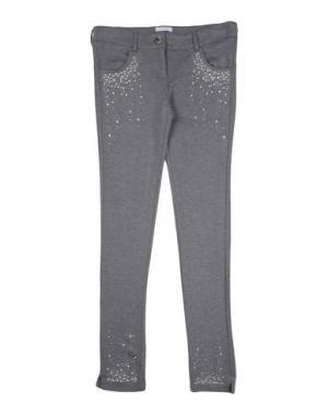 Повседневные брюки MISS GRANT. Цвет: серый