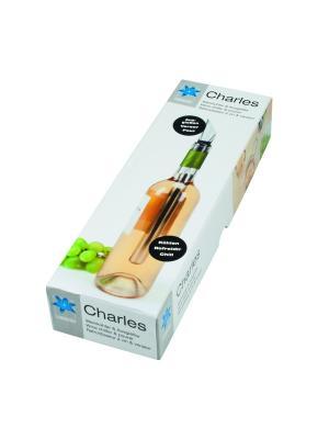 Охладитель для вина Charles Contento. Цвет: серебристый
