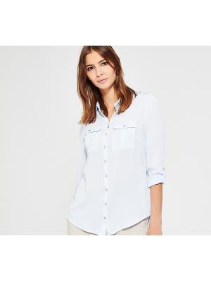 Блузка Reserved. Цвет: голубой