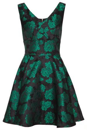 Платье Mela london. Цвет: зеленый